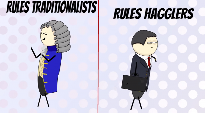 Lazy Tuesday Video Post: Rules Lawyers