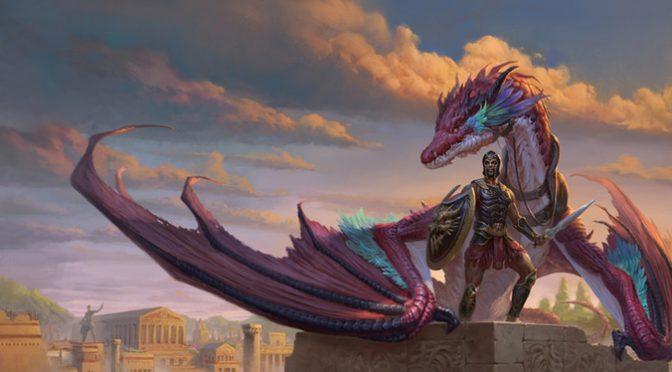 Kickstarter: Odyssey of the Dragonlords