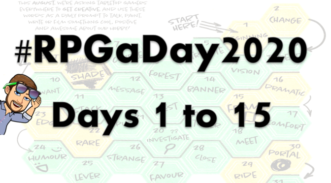 We interrupt this blog for… #RPGaDay2020!